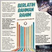 Berlatih Rahman Rahim