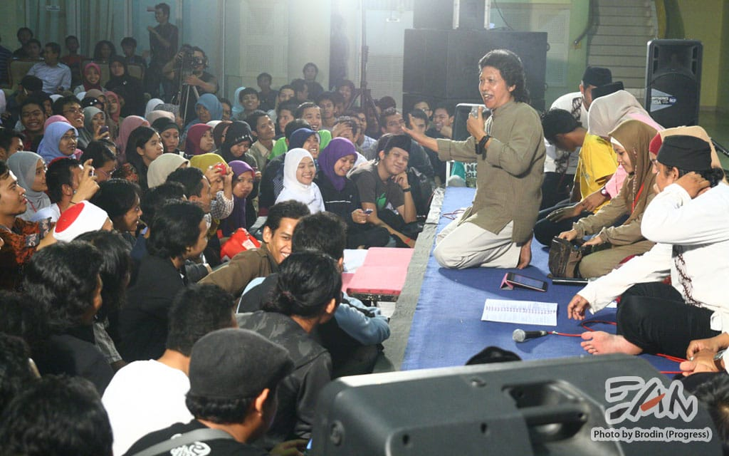 Cultural Night - International Interfaith Youth Meeting 2011. Foto oleh Adin Progress. Dokumentasi Progress.