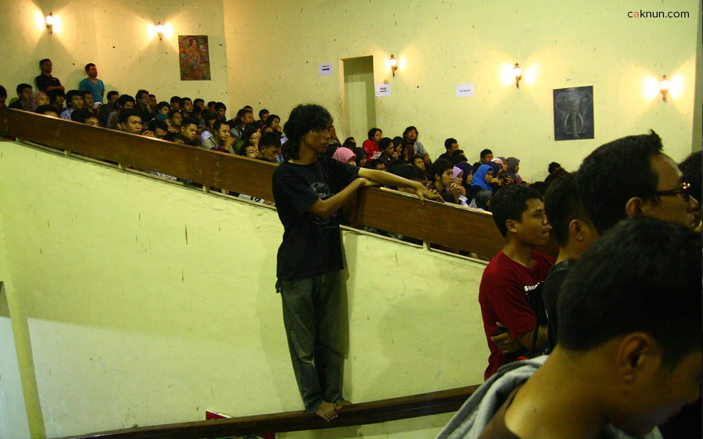 Sarasehan Budaya FBS UNY 2012. Foto oleh ARi.
