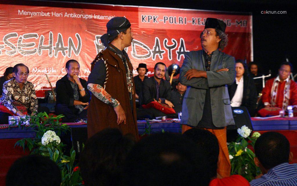 Novi Budianto dan Joko Kamto, Sarasehan Budaya KPK