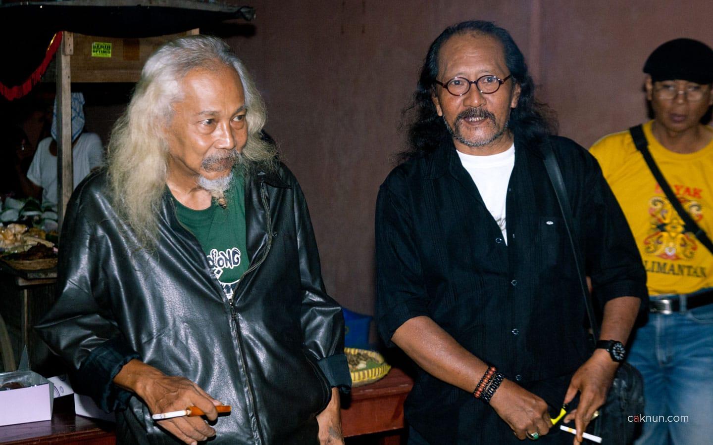Peringatan 45 Tahun Persada Studi Klub di Rumah Budaya EAN. Foto 01. Foto oleh Adin Progress. Dok Progress.