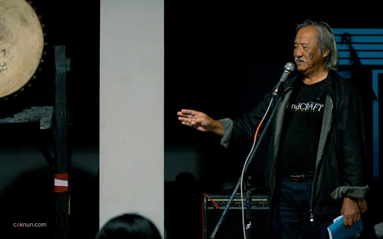 Peringatan 45 Tahun Persada Studi Klub di Rumah Budaya EAN. Foto 02. Foto oleh Adin Progress. Dok Progress.