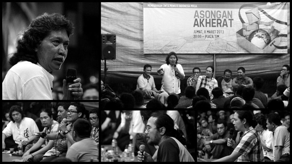 Reportase Kenduri Cinta Maret 2013: Asongan Akherat