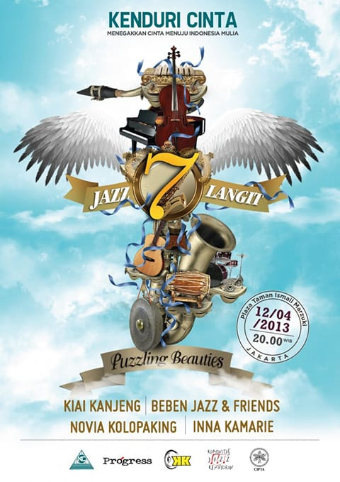 Kenduri Cinta Jazz 7 Langit Cover