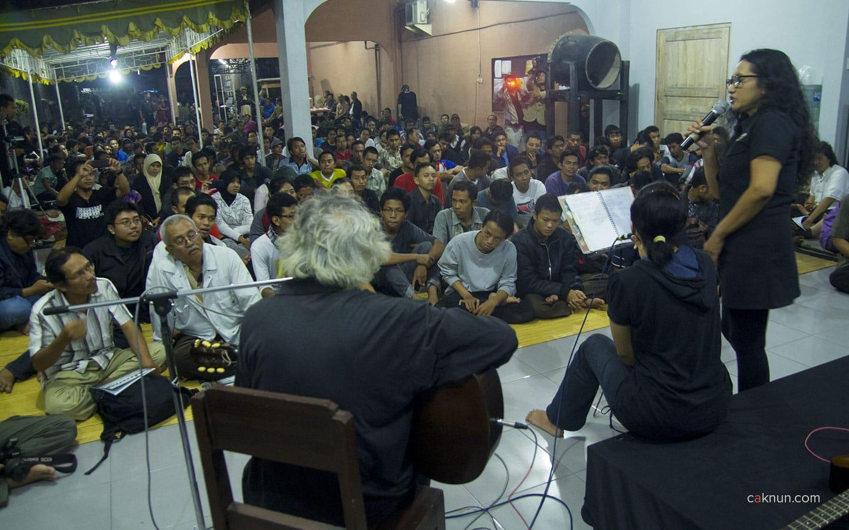 Untung Basuki Ikut Memeriahkan Acara. Foto oleh Adin Progress.