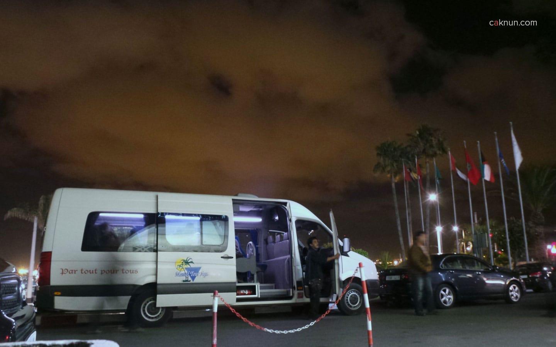 KiaiKanjeng tiba di hotel Golden Tulip Farah, Rabat. Maroko Tour 2013 – Foto oleh Adin Progress