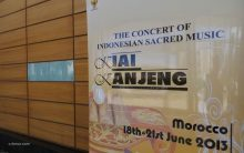 The Concert of Indonesian Sacred Music