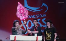Penancapan Gunungan Wayang menandai dibukanya Indonesian Jass Festival 2013. Foto 07. Foto oleh Adin Progress.