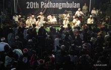 20th Anniversary Padhang mBulan 01. Photo by Ehaka. Doc: Progress.