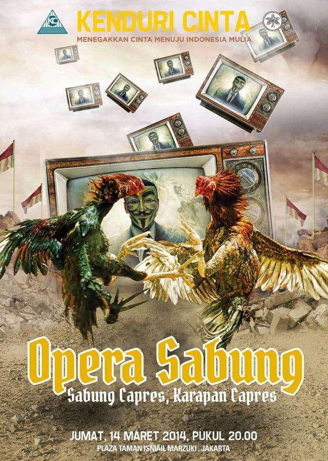 Opera Sabung: Sabung Capres – Karapan Capres