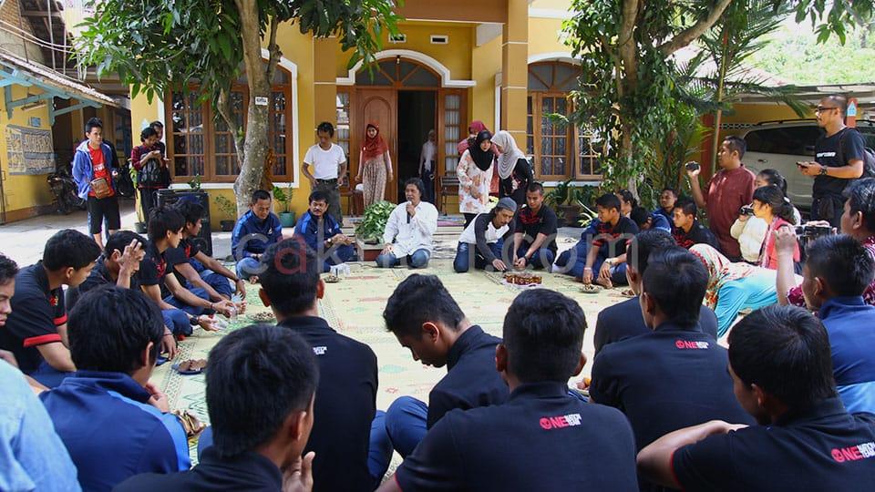 Silaturrahmi Timnas U19 ketika Idul Adha di Kasihan Bantul