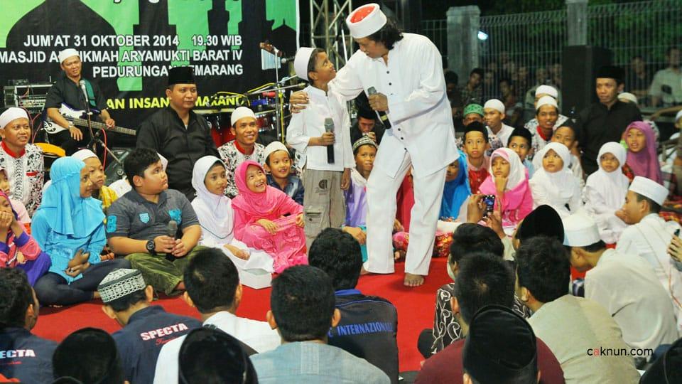 Catatan Perjalanan Cak Nun KiaiKanjeng, Semarang, 31 Okt 2014
