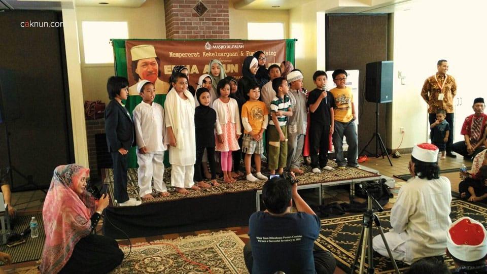 Bersama anak-anak, USA Tour 2015