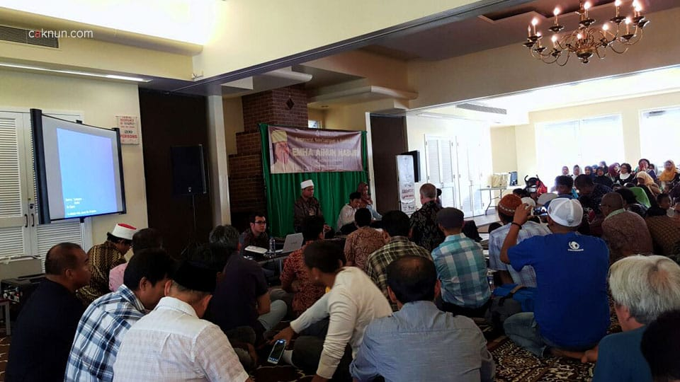Keakraban warga Indonesia di Philadelphia