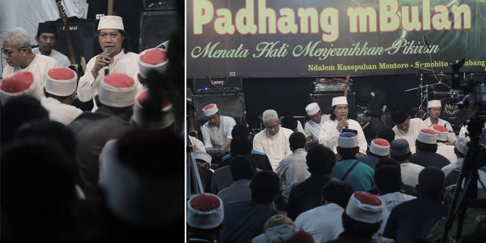 Suasana majelis ilmu Padhangmbulan.