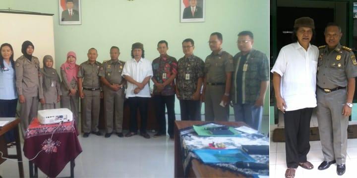 Berfoto Bersama Dinas Ketertiban Kota Yogyakarta