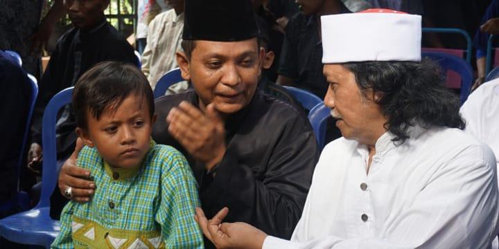 Cak Nun bersama mas Islami