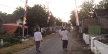 Suasana Menturo menjelang Ihtifal Maiyah.