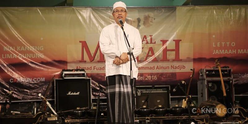 Pesan-Pesan Pidato Ihtifal Maiyah Cak Fuad