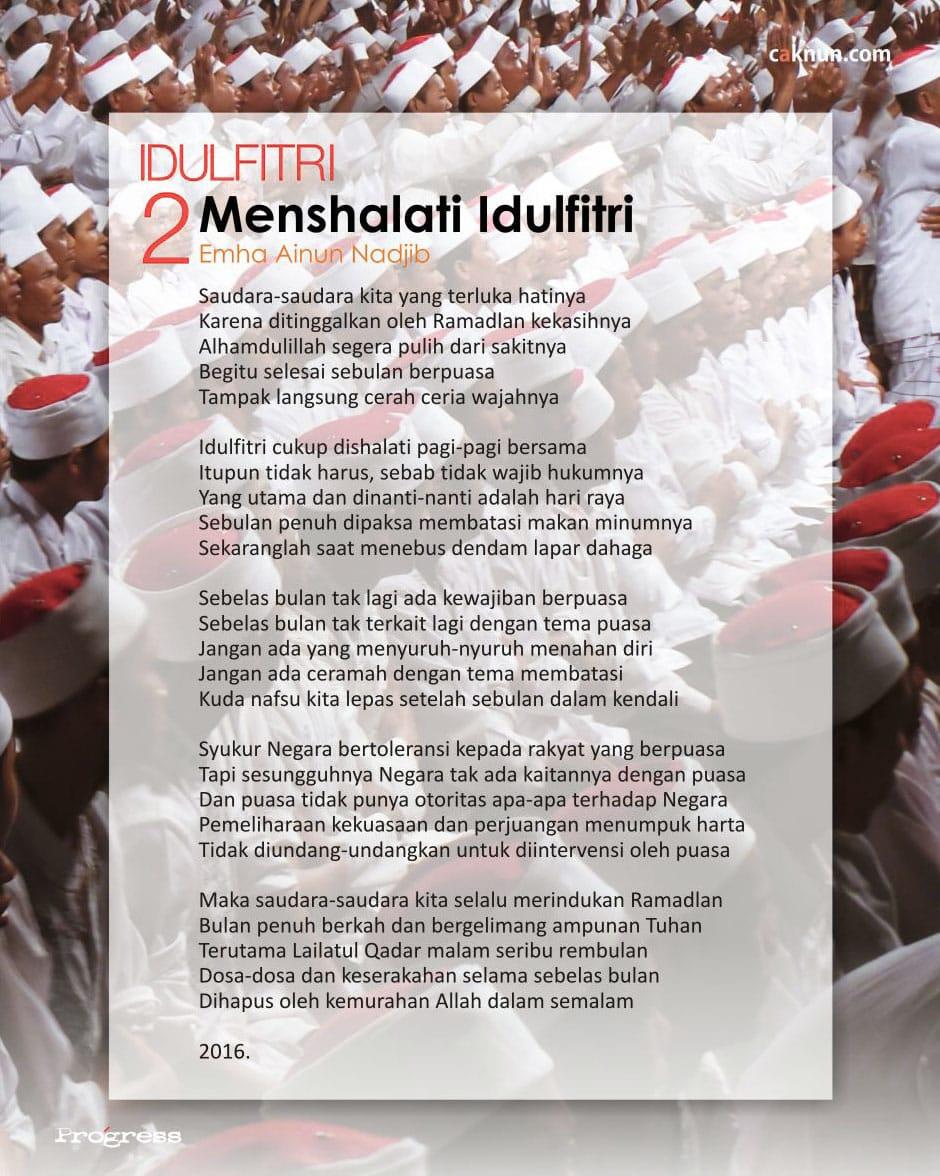 Menshalati Idulfitri