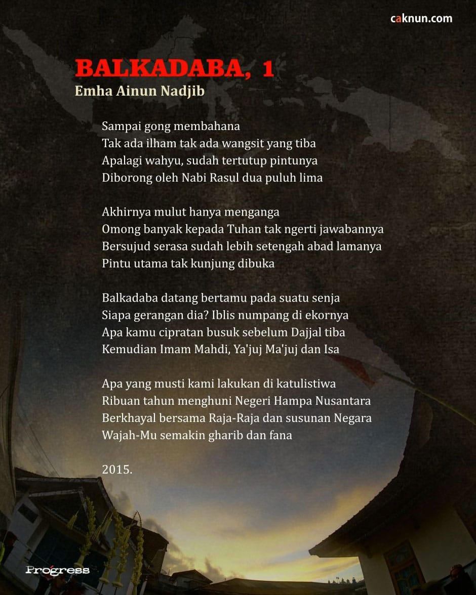 Balkadaba, 1
