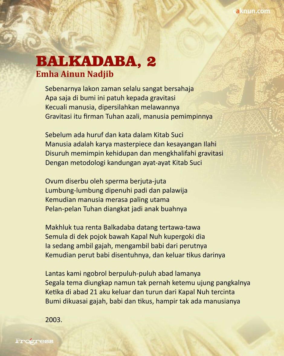 Balkadaba, 2