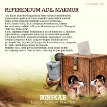 Referendum Adil Makmur