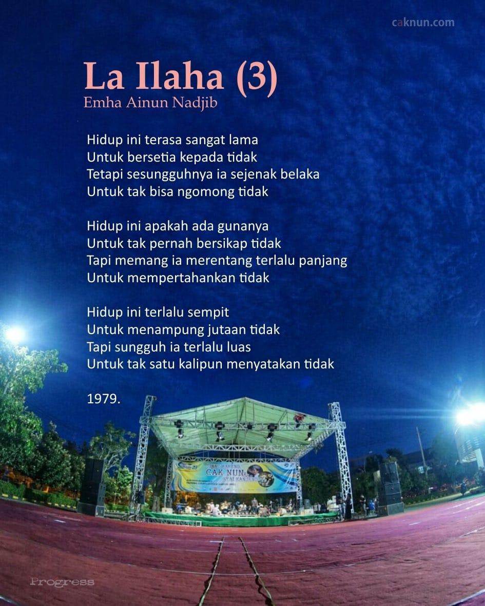La Ilaha (3)
