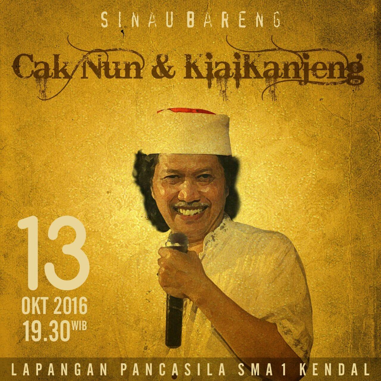 55 Tahun SMANlK Bersama Cak Nun dan KiaiKanjeng