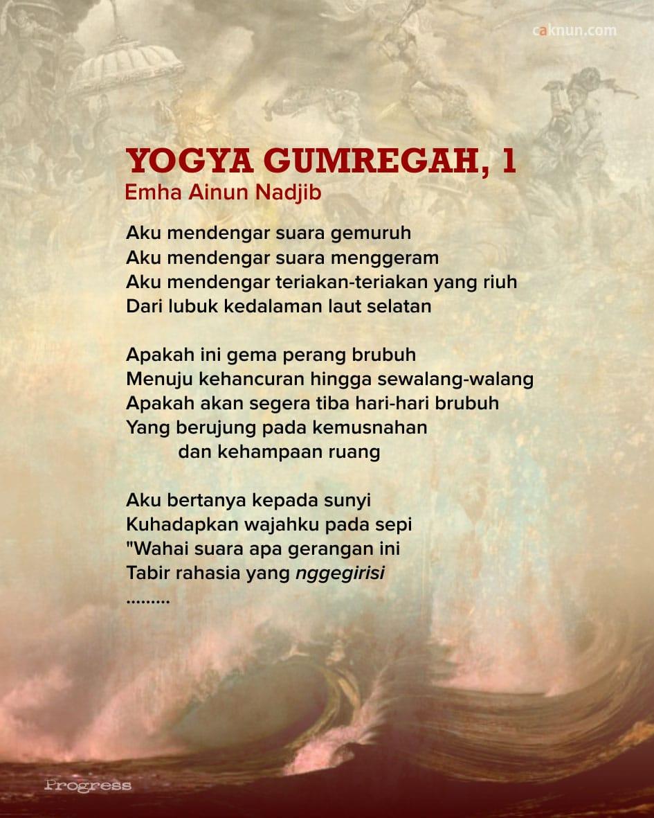 Yogya Gumregah, 1