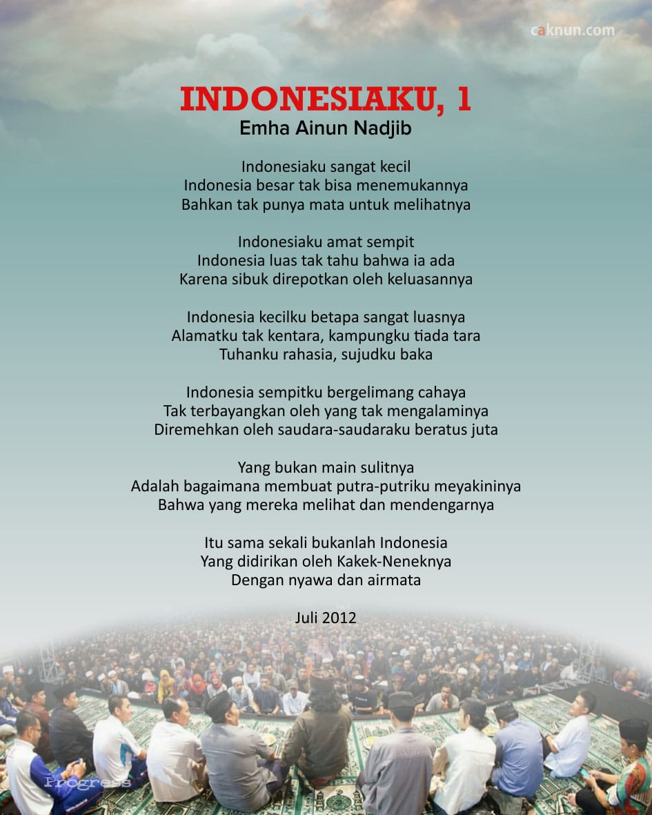 Indonesiaku, 1