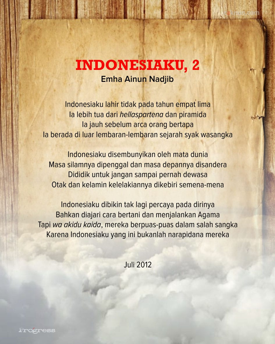 Indonesiaku, 2