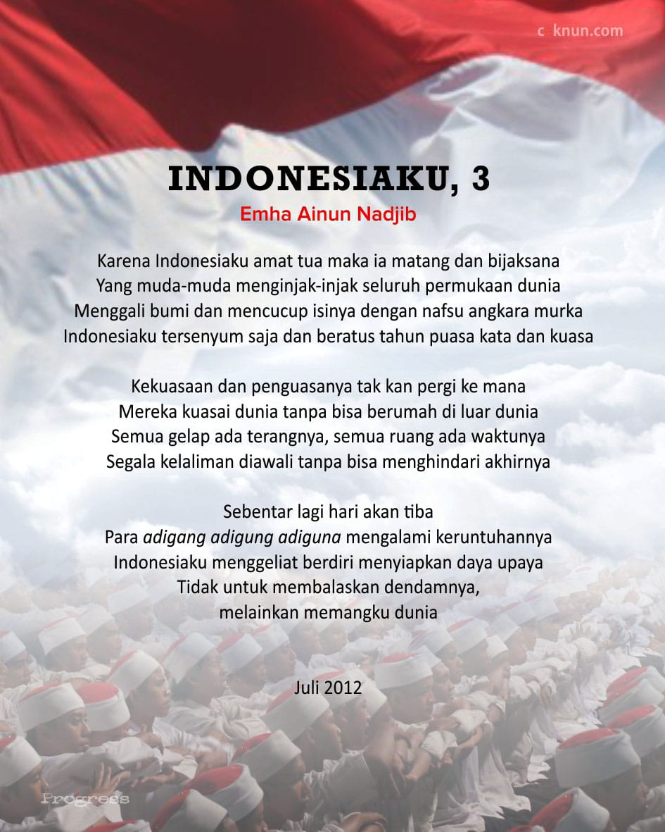 Indonesiaku, 3