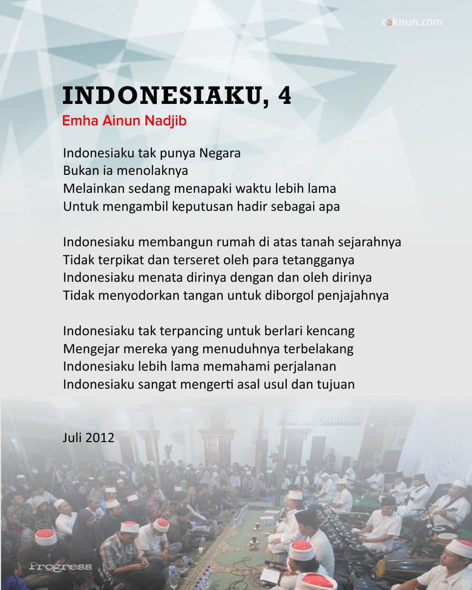 Indonesiaku, 4