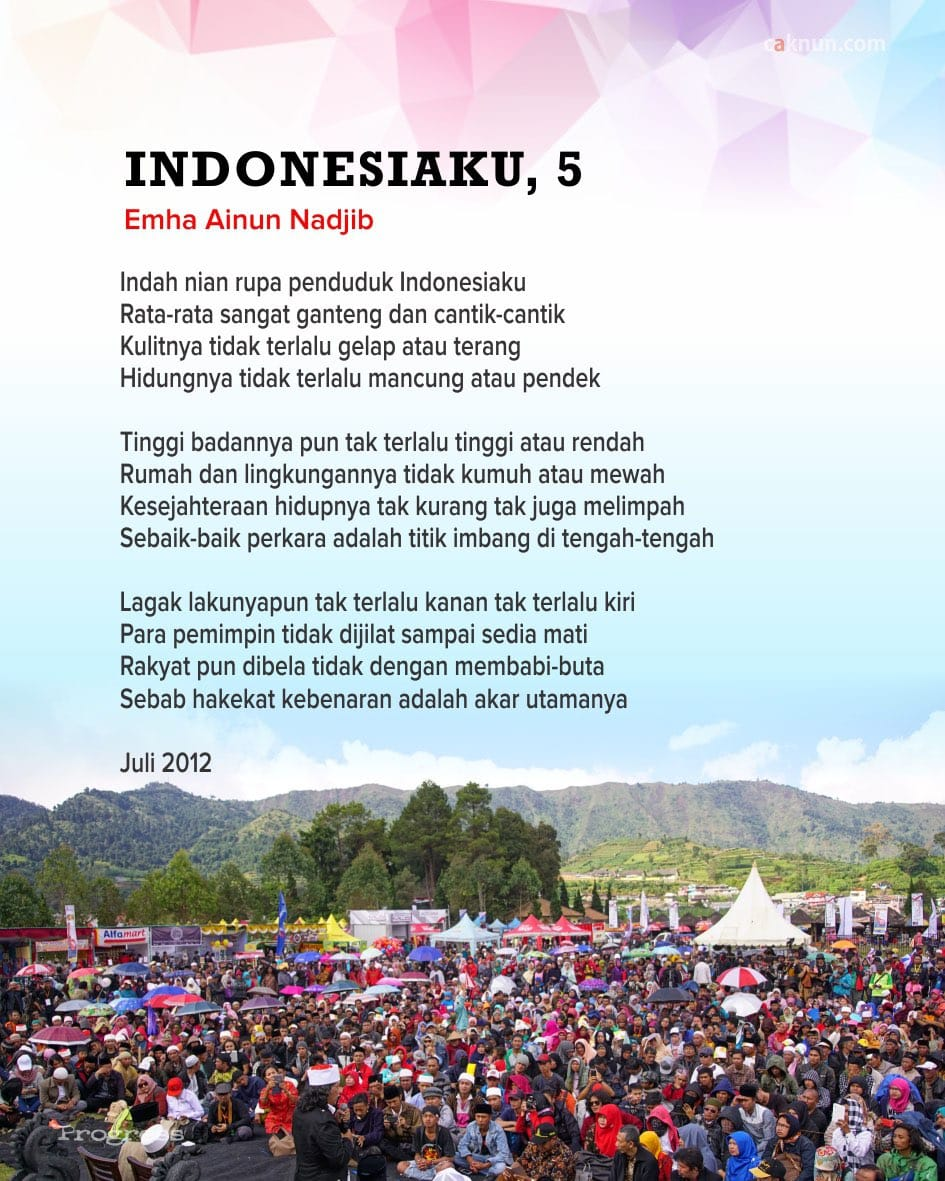 Indonesiaku, 5