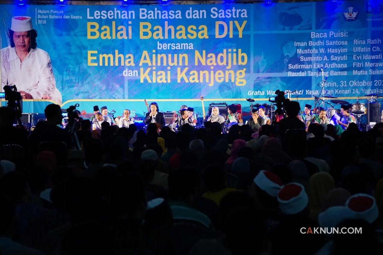 Musik Puisi KiaiKanjeng untuk Puncak Bulan Bahasa dan Sastra