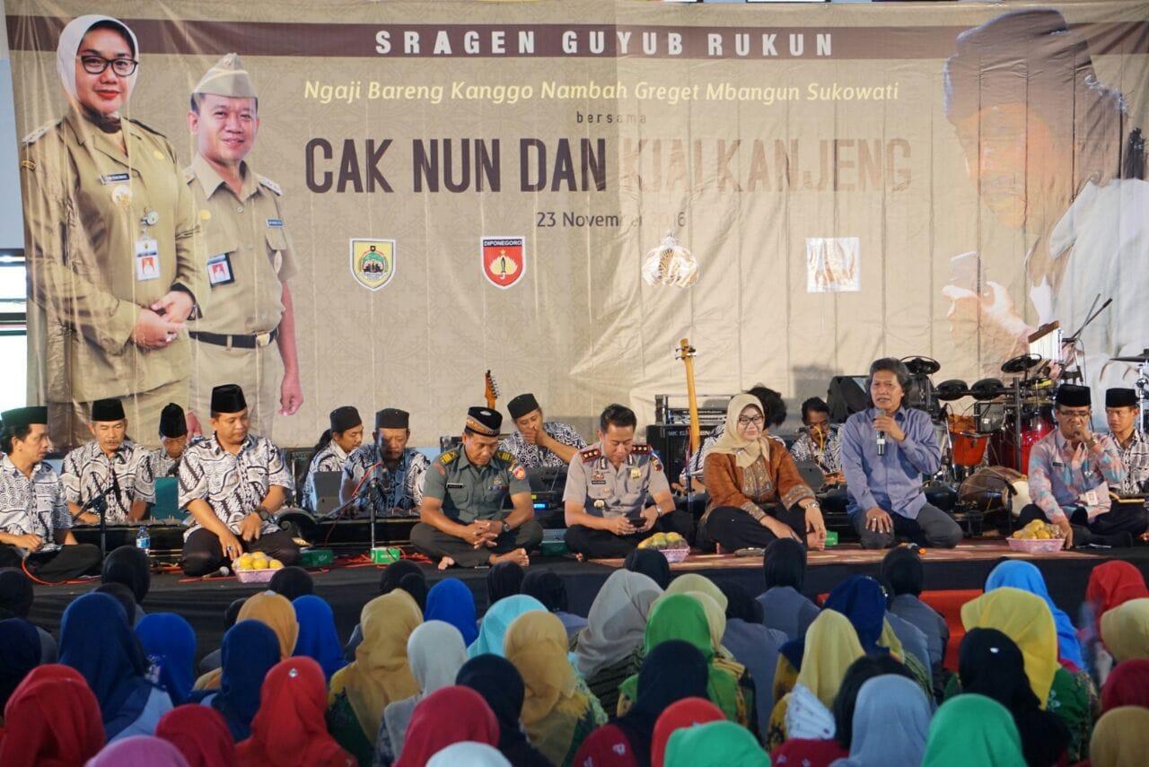 Ngaji Bareng untuk Perangkat Pemerintahan Kabupaten Sragen