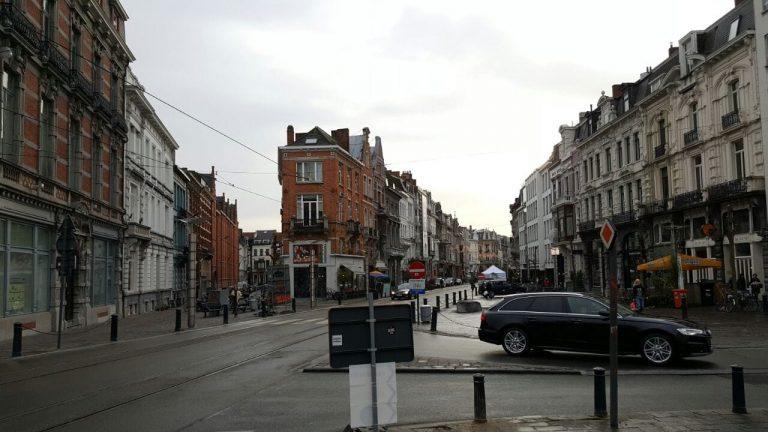 Melihat-lihat kota tuan Ghent.