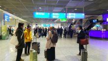 Cak Nun dan Mbak Via tiba di Frankfurt