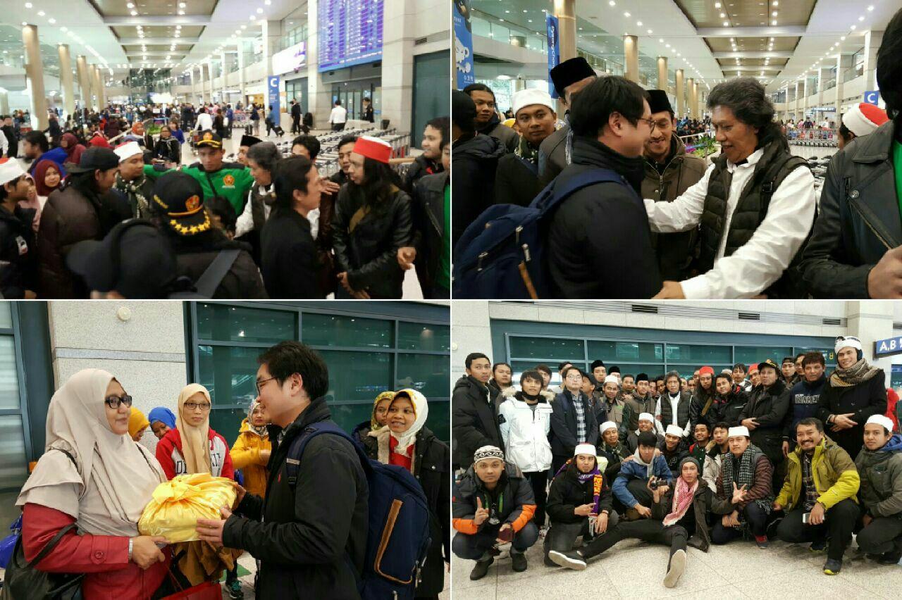 Bandara Seoul dan Gerombolan Penjemput