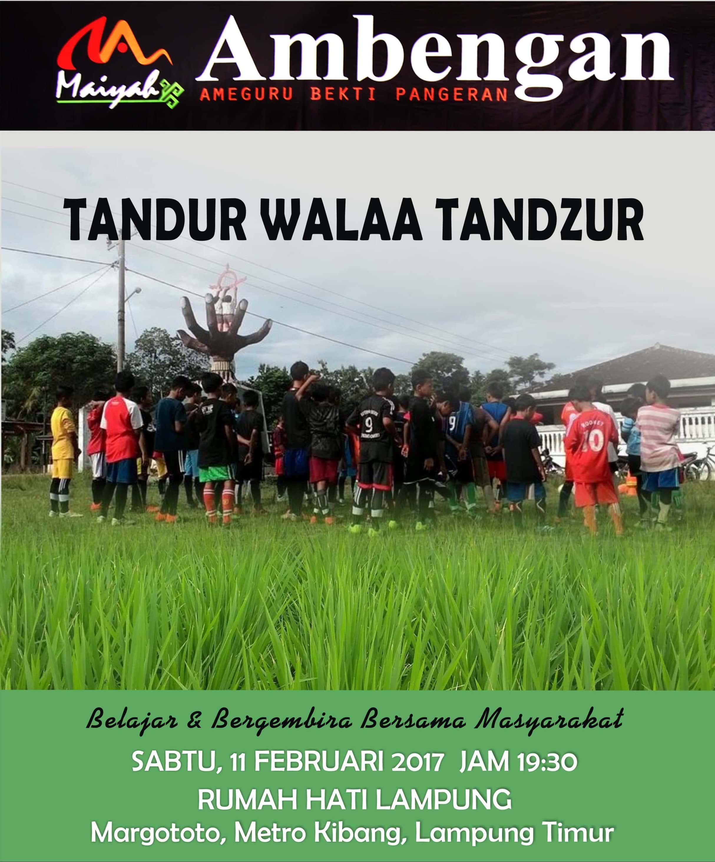 Maiyah Dusun Ambengan, 11 Februari 2017