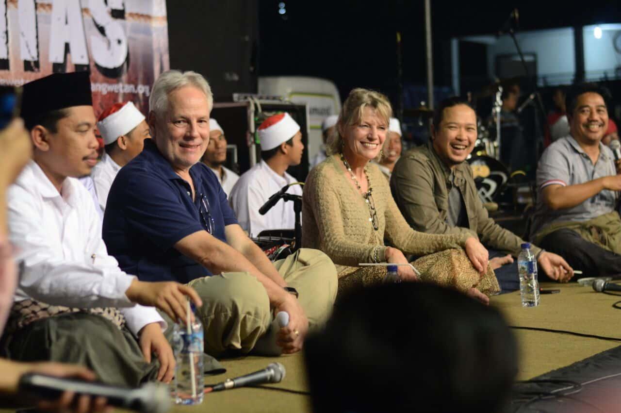 Bu Anne Rasmussen juga hadir di Bangbang Wetan