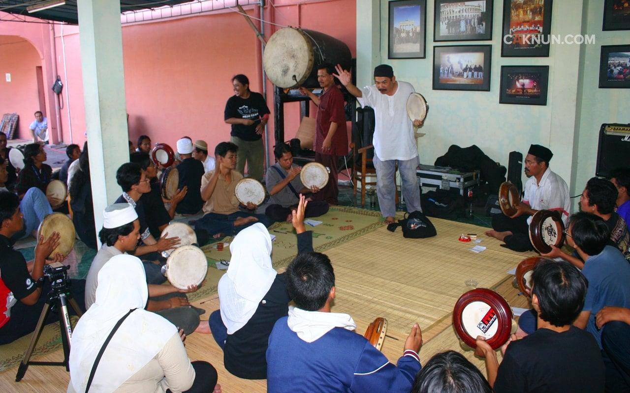 Workshop Terbangan untuk Jamaah Maiyah
