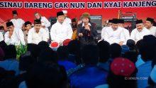 Mbah Nun mengajak warga Semarang menghimpun pertanyaan-pertanyaan tentang kota Semarang dan mentadabburi Al-Isra ayat 1.