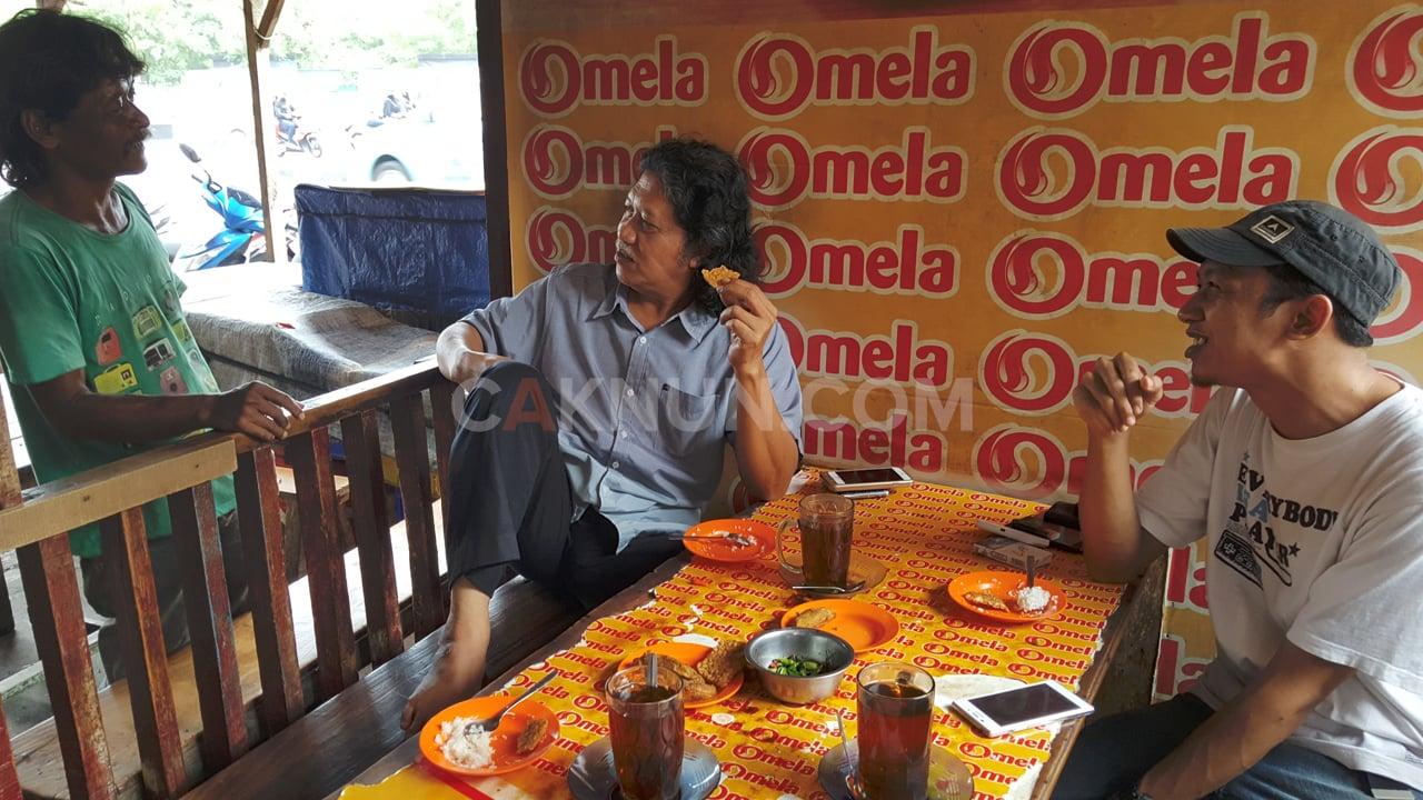 Menu Sarapan Favorit Mbah Nun di Jakarta