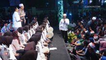 Inilah cermin kekuatan bangsa Indonesia. Islam kuat, Indonesia Kuat. Tidak ada sentimen negatif atas nama agama.