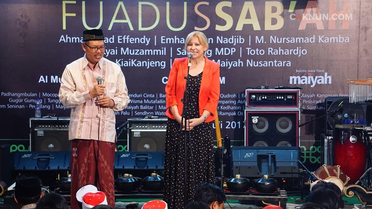 Doa Prof. Barbara Michalak-Pikulska untuk Cak Fuad