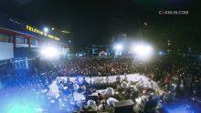 Malam ini Bangbang Wetan genap berusia 11 tahun. Acara digelar di halaman TVRI Surabaya.