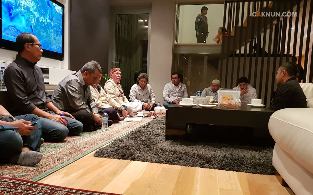 Ramah tamah, silaturahmi, dan welcome dinner di rumah Pak As'ad