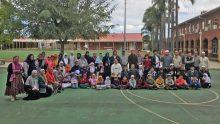 Bersama anak-anak Madrasah Australian Islamic College Thornlie.
